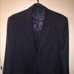 Jones New York Blue Plaid Suit